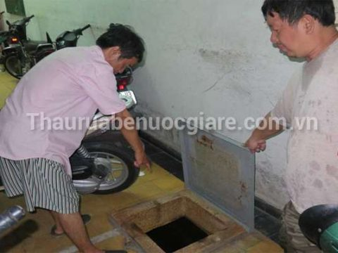 Thau rửa bể nước Cơ Quan Uy tín, Sạch 100% HOTLINE 0976606833