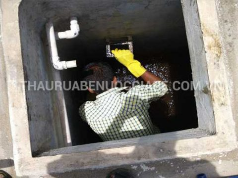 Thau rửa bể nước ngầm sạch sẽ, giá rẻ nhất thị trường tại Hà Nội