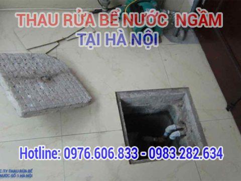 Thau rửa bể nước ngầm tại Hà Nội. Gọi ngay【0976.606.833】