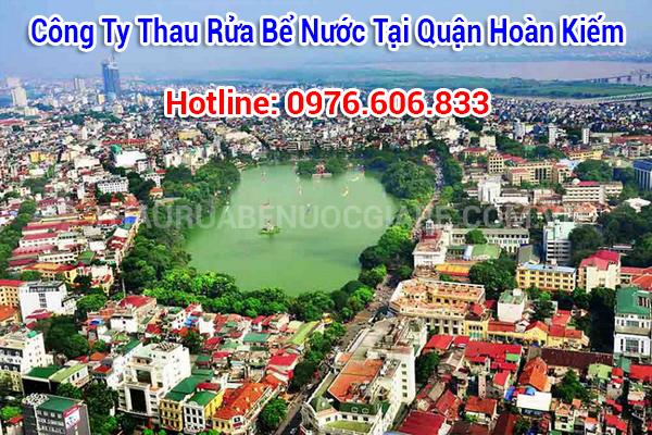 thau rửa bể nước tại quận hoàn kiếm, Hà Nội