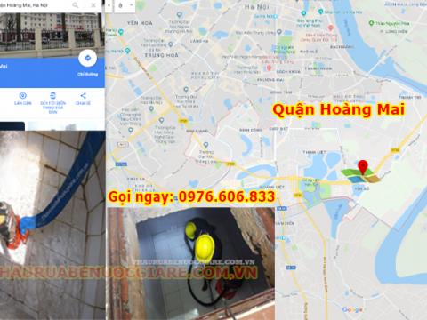 Thau Rửa Bể Nước Tại Quận Hoàng Mai 120.000đ – Cam kết Sạch 99%