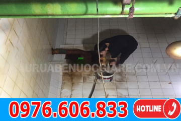 Dịch vụ thau bể nước ngầm hà đông giá rẻ