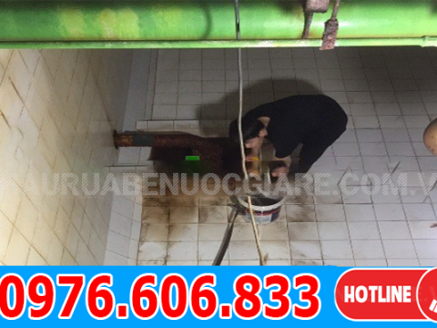 Thau bể nước ngầm Hà Đông giá rẻ, thợ giỏi, chuyên nghiệp