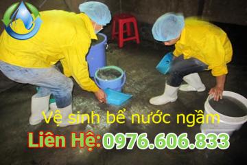 Thau Rửa Bể Nước Hà Đông 0976 606 833 giá rẻ thợ chuyên nghiệp