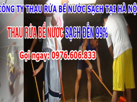 Thau Rửa Bể Ngầm Tại Hà Nội Đặt Lịch Gọi Ngay 0976 473 548