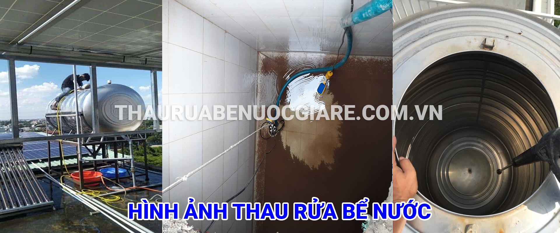 dịch vụ thau rửa bể nước ngầm tại hà nội