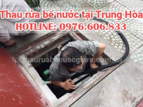 Rửa bể nước Trung Hòa, Cầu Giấy giá rẻ sạch sẽ 0976 606 833