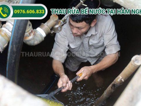 Thau rửa bể nước Hàm Nghi giá rẻ, sạch sẽ, chuyên nghiệp
