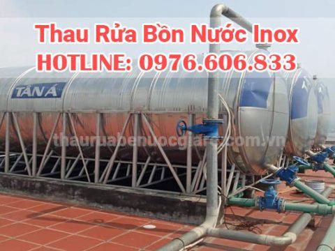 Thau rửa bồn inox tại Hà Nội, chuyên nghiệp làm sạch sẽ nhất