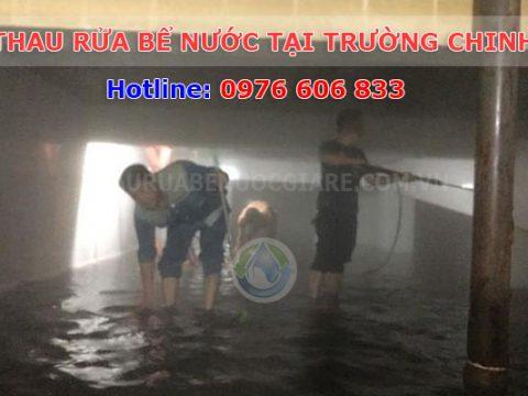 Thau rửa bể nước Trường Chinh đảm bảo vệ sinh 0976 606 833