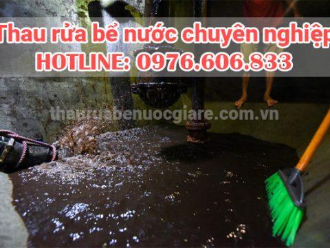 Thau bể nước ngầm giá rẻ tại hà nội đảm bảo vệ sinh