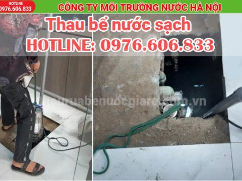 Thau bể nước sạch giá rẻ, chuyên nghiệp, đảm bảo vệ sinh